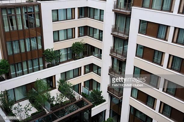 The Mandarin Oriental, A New 5-Stars Palace In Paris. Paris, 22 June 2011: the latter Parisian luxury hotels, the Mandarin Oriental serves ecrin a...