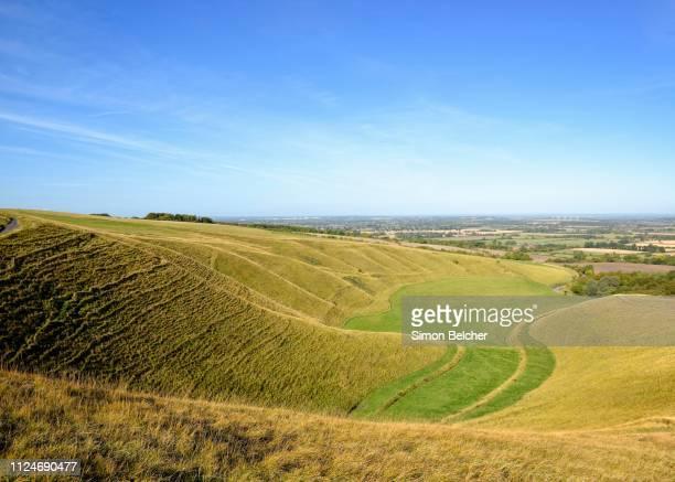 the manger, uffington, oxfordshire, england, united kingdom - アフィントン ストックフォトと画像