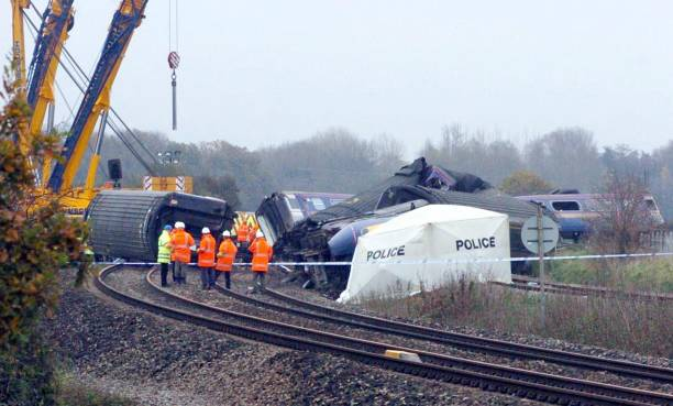 The Berkshire Train Crash Pictures Getty Images