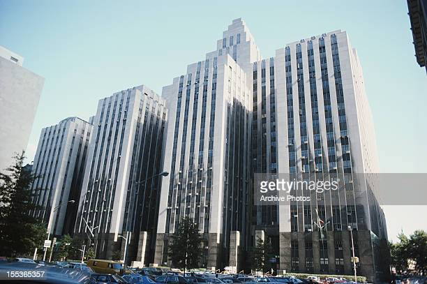 The Manhattan Criminal Courthouse in New York City circa 1985