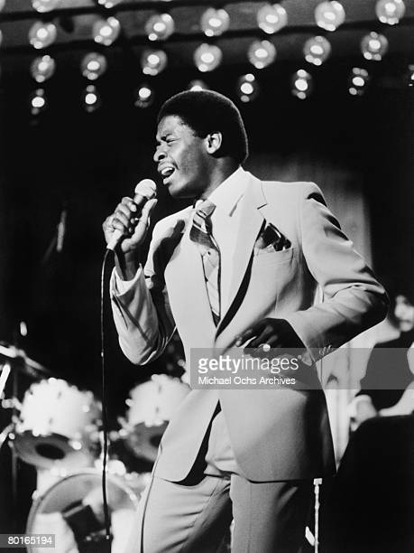 The Manhattans perform on Don Kirshner's Rock Concert circa 1977 in Los Angeles California