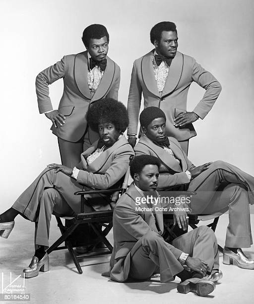The Manhattans pose for a portrait circa 1975 in New York, New York.