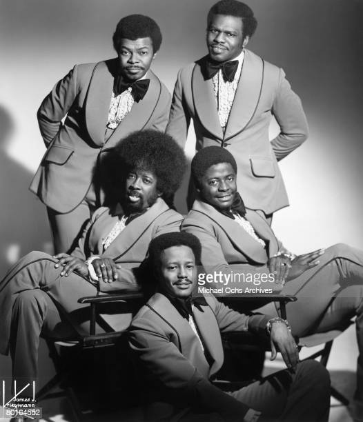 The Manhattans pose for a portrait circa 1975 in New York New York