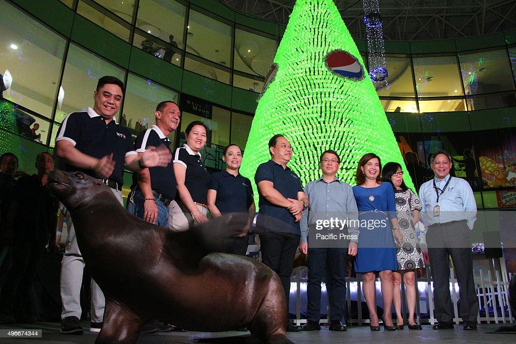 The Manila Ocean Park unveiled the environmentally-friendly... : News Photo