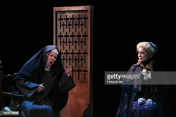 The Mannes Opera performing Poulenc's Dialogues of the Carmelites at the Kaye Playhouse on Thursday night May 1 2008This imageEmily DuncanBrown as...