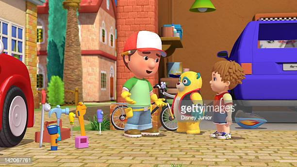 OSO 'The Manny with the Golden Bear' In the firstever Disney Junior crossover episode Handy Manny and his tools pay a visit to Special Agent Oso and...