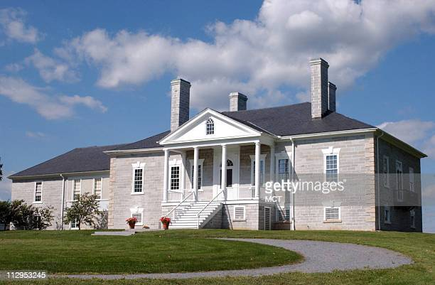 The Manor House at the former Belle Grove plantation served as the Union field headquarters during the Confederate attack at Cedar Creek in...
