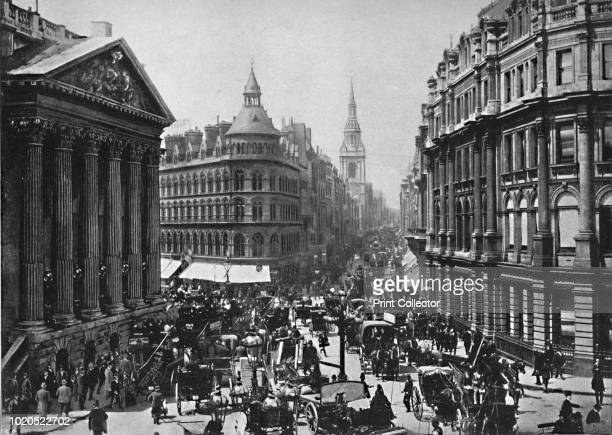 The Mansion House and Cheapside' circa 1896 From Pictorial England and Wales [Cassell and Company Limited London Paris Melbourne circa 1896] Artist...
