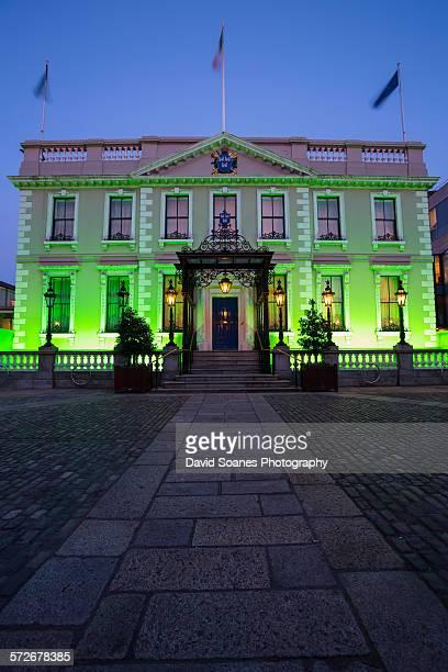 The Mansion house in Dublin City, Ireland