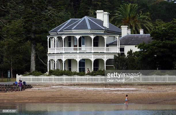 The Mansion House on Kawau Island was bought by Sir George Grey in 1862 and transformed it into a stately home spending a large part of his personal...