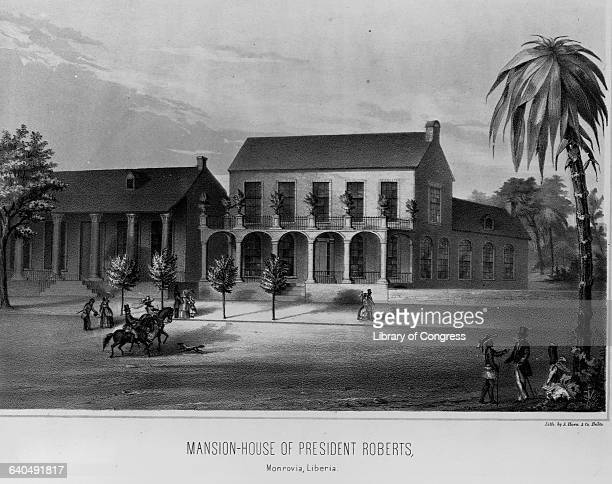 The mansion of President Roberts Monrovia Liberia 1847 | Location President Robbert's Mansion Monrovia Liberia
