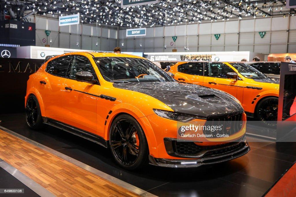 Geneva Motor Show 2017 : News Photo