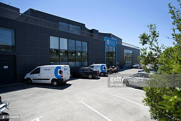 The manufacturing offices for VisionBox Solucoes De Visao Por Computador SA which make electronic identity systems sit in Carnaxide Portugal on...