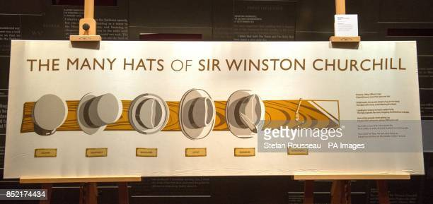 The Many Hats of Winston Churchill by Nick Jameson which was awarded the first prize in the Pentland Winston Churchill Design Competition by Boris...