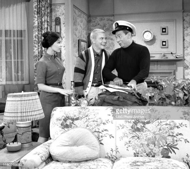 The Many Loves of Dobie Gillis a CBS television situation comedy Episode Dobie's Navy Blues originally aired March 15 1960 Left to right Yvonne Craig...