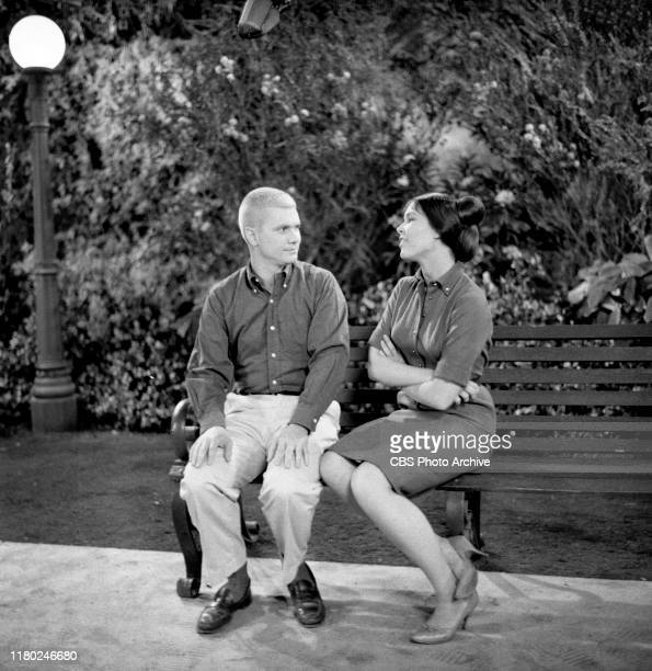 The Many Loves of Dobie Gillis a CBS television situation comedy Episode Dobie's Navy Blues originally aired March 15 1960 Left to right Dwayne...