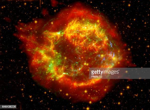 The many sides of the supernova remnant Cassiopeia A. Located 10,000 light-years away in the northern constellation Cassiopeia, Cassiopeia A is the...