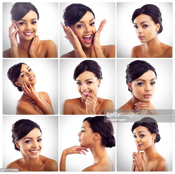 the many sides to her beauty - layers of skin stock pictures, royalty-free photos & images