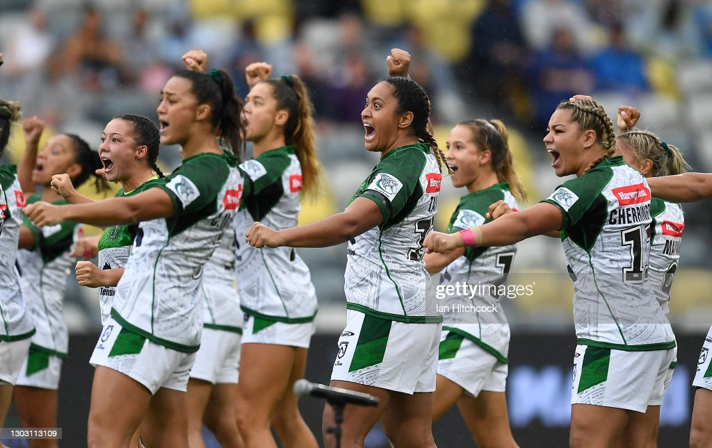 NRL All Stars game - Indigenous v Maori Women's : News Photo