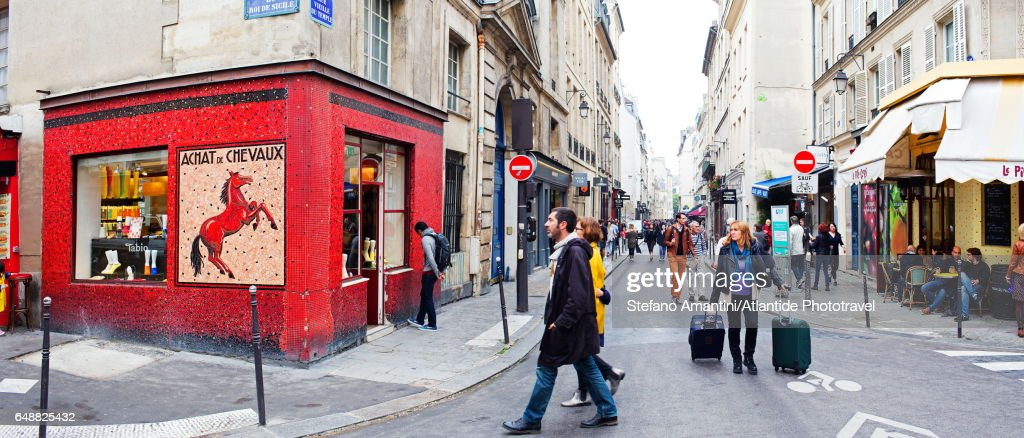 The Marais : Stock Photo