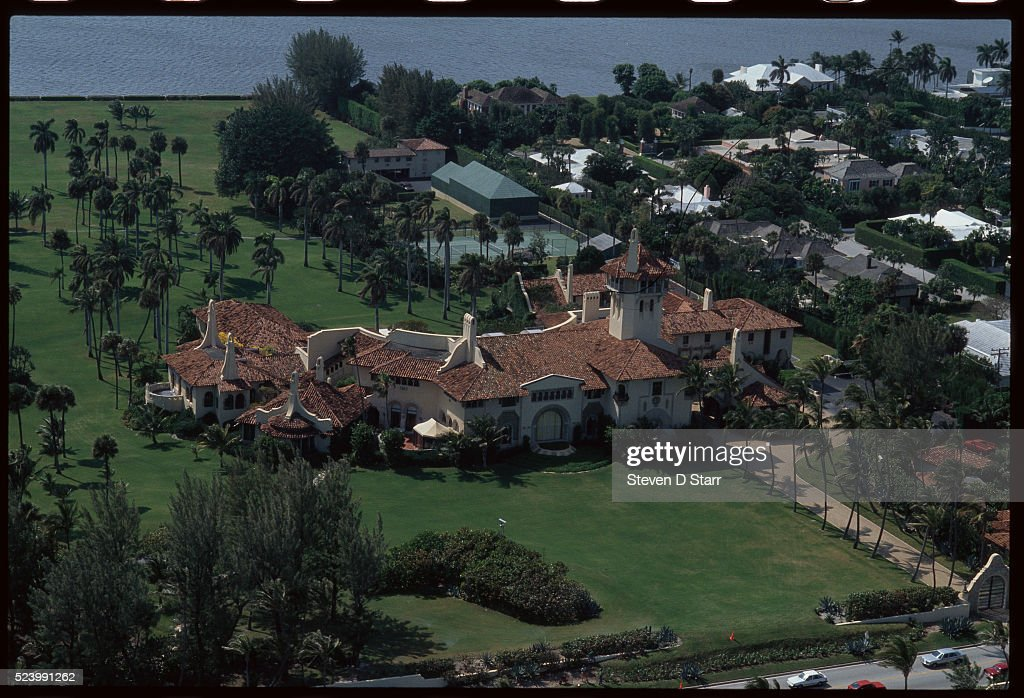 Donald Trump's Mar-a-Lago Estate : News Photo