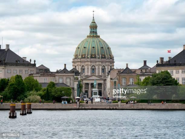 The Marble Church and Amalienborg Palace, Copenhagen