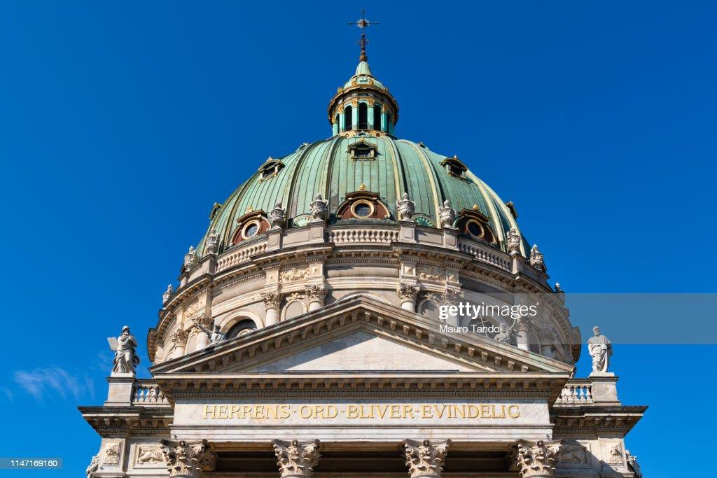 The Marble Church (Marmorkirken), Copenhagen, Denmark : Foto stock