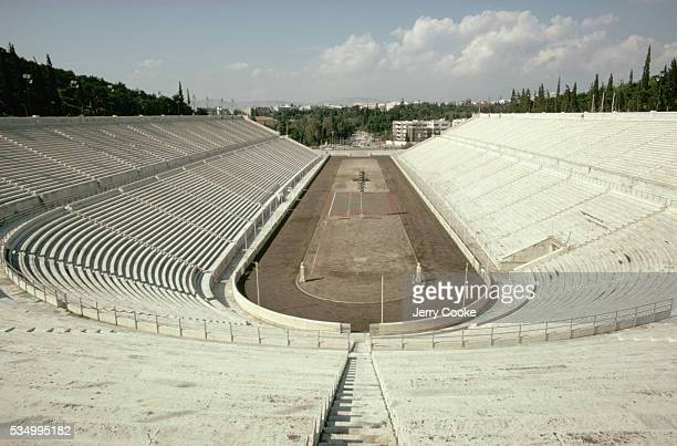 The Marble Stadium was built in Greece to host the first Olympic Games in 1896