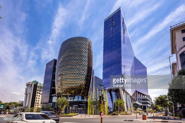 the marc building in sandton city - sandton stock pictures, royalty-free photos & images