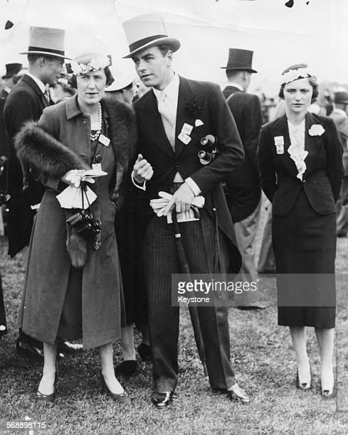 The Marchioness of Cambridge and a friend at Epsom Races England June 1st 1937