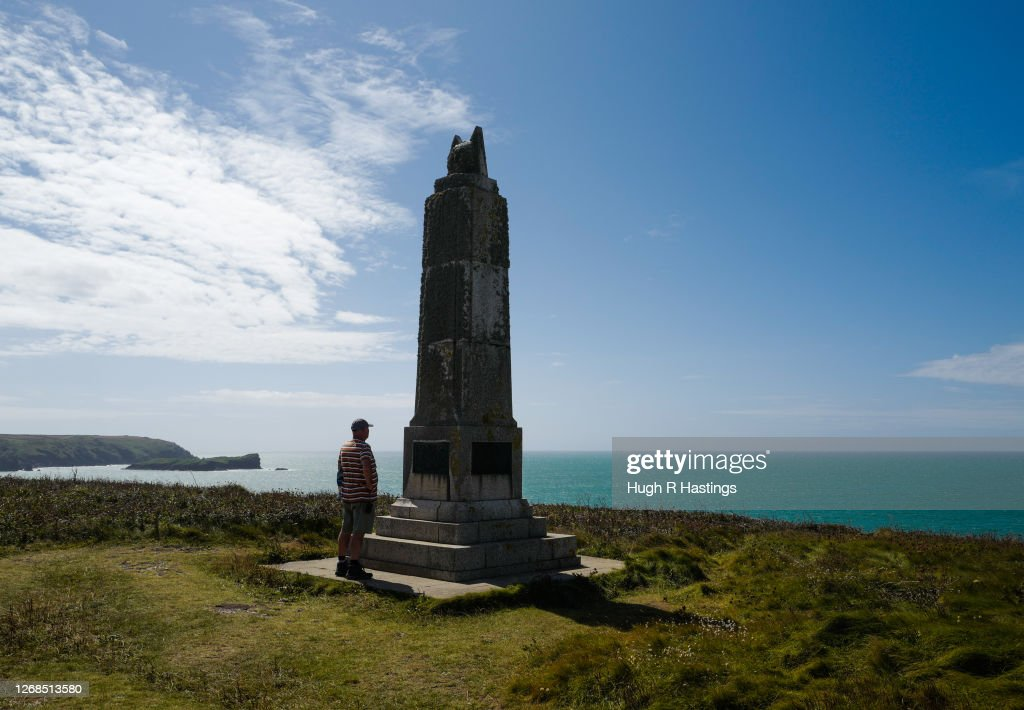 Marconi Monument And Visitor Centre : News Photo