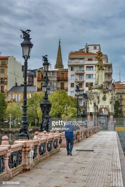 The Maria Cristina bridge,San Sebastian(Donostia),Basque Country,Spain