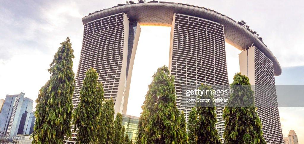 The Marina Bay Sands : Stock Photo