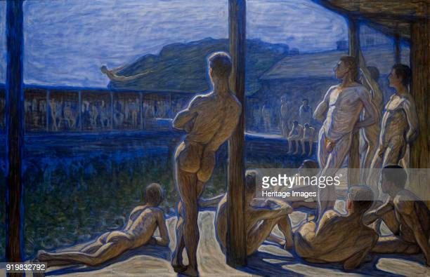 The Marine Bath House 1907 Found in the collection of Thielska Galleriet Stockholm