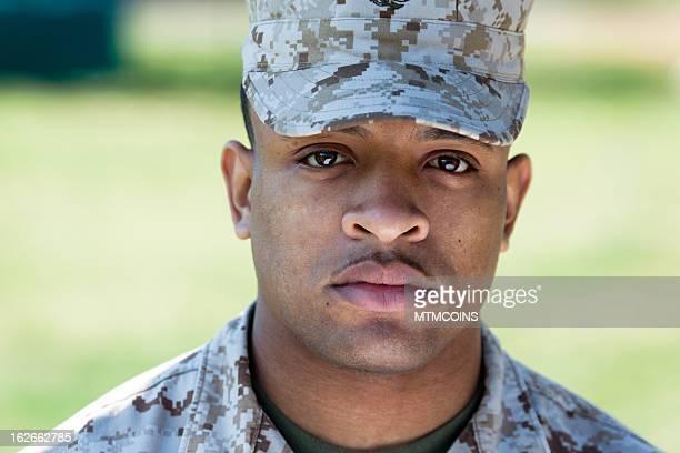 The Marine Stare