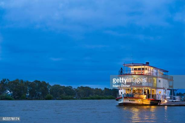 The Marion steamer boat on the Murray river