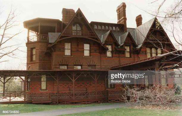 The Mark Twain house in Hartford Conn on April 24 1990