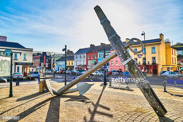 The market square at the town of Bantry