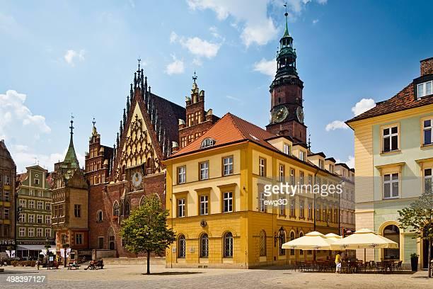 The Market square, Wrocław, Poland