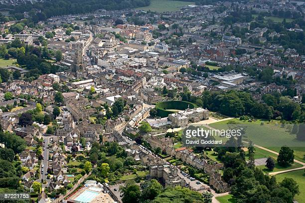 The Market town of Cirencester in the Cotswolds on 29th June 2006