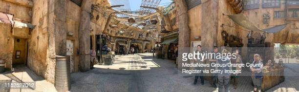 The Marketplace inside Star Wars: Galaxy's Edge at Disneyland in Anaheim, CA, on Wednesday, May 29, 2019.