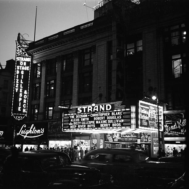 Marquee For Dizzy Gillespie At The Strand