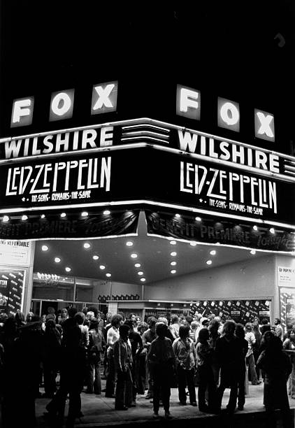 "Led Zeppelin ""Song Remains The Same"" Premier Marquee"