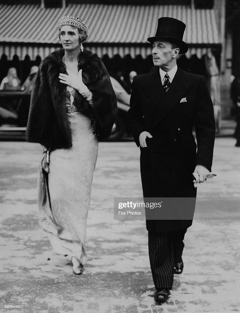 The Marquess And Marchioness Of Carlsbrooke : News Photo