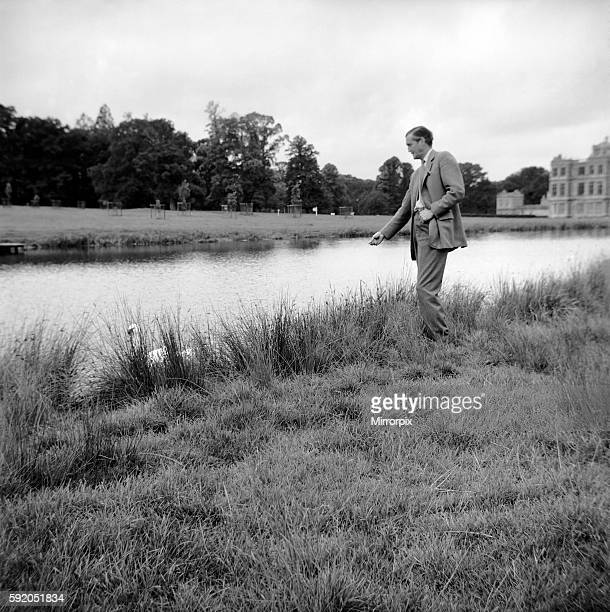 The Marquess of Bath seen here at Longleat house January 1961