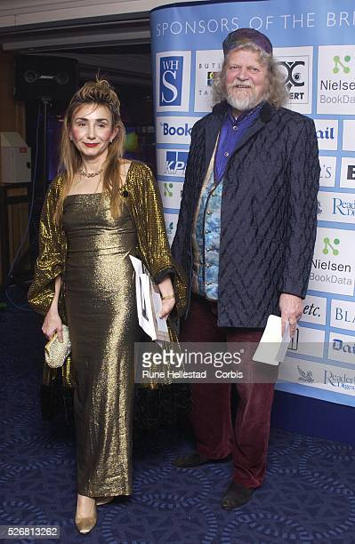 The Marquis of Bath and the Countess Valentina Artsrunik at the British Book Awards at Grosvenor House in Park Lane