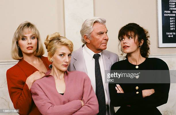 MATLOCK The Marriage Counselor Episode 5 Pictured Kim Johnston Ulrich as Laura Corning Jenny Wright as Ginnie Morell Andy Griffith as Benjamin...