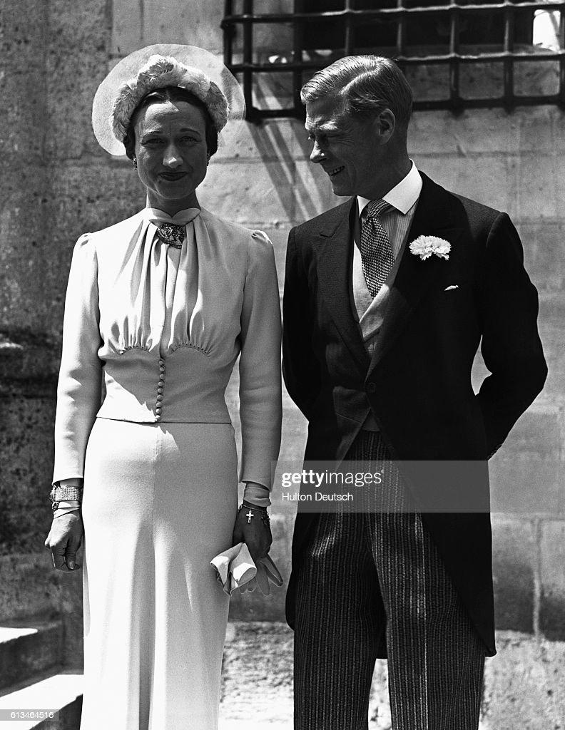 Wedding of Duke and Duchess of Windsor, 1937 : News Photo