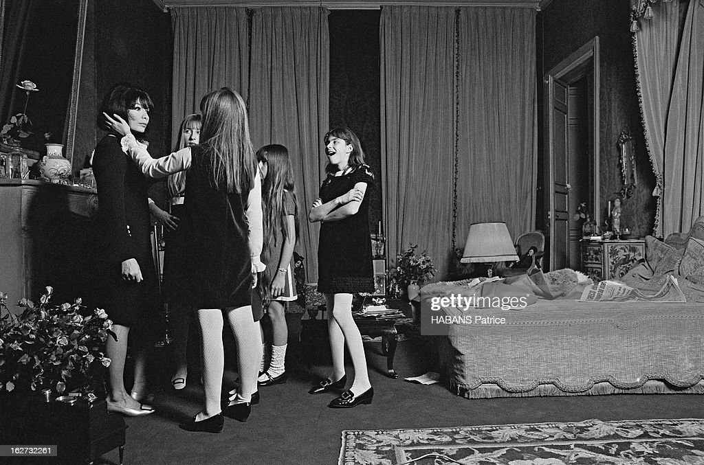 The Marriage Of Juliette Greco And Michel Piccoli : News Photo