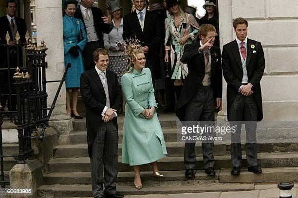 The Marriage Of Prince Charles And Camilla Parker Bowles Mariage civil du prince CHARLES et de Camilla PARKER BOWLES à la mairie de WINDSOR le prince...